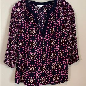 Crown & Ivy Lady Bug Blouse